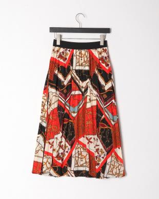 キカ柄 プリントスカートを見る