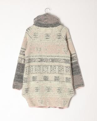 グレーピンク イタリア製  ウールコートを見る