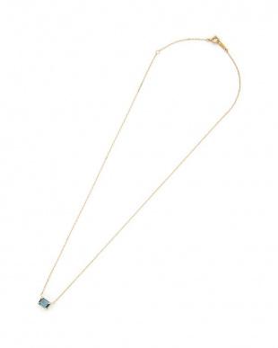 イエロー K18 ブルートパーズ ネックレスを見る