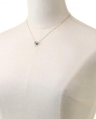 ブルー SV925 ロンドンブルートパーズ ネックレスを見る