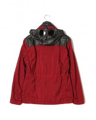 スクーター 異素材切替 フード付 中綿入 比翼ジップ ジャケットを見る