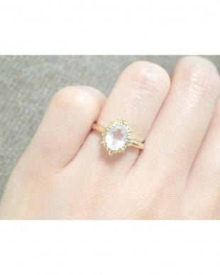 ピンク Noble ring ローズクオーツを見る