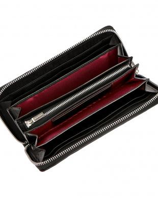 ブラック クロコダイル革 ラウンドジップ 長財布を見る