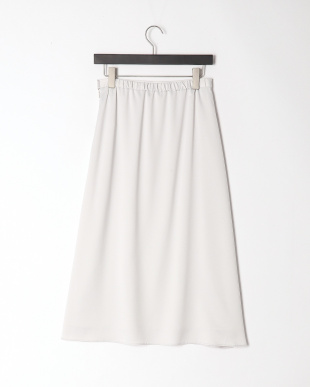 グレー Aラインロングスカートを見る