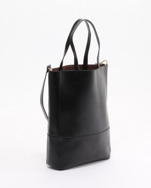 ブラック ロングトートバッグを見る