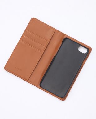 キャメル×ダークブラウン 手帳型トランクiPhoneケース iphone6,7,8,SE機種対応を見る
