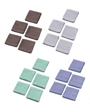 栗色5枚銀ねず5枚パンジー5枚フロートアイス5枚 Towel Series ハンドタオルHAPPY BAGを見る