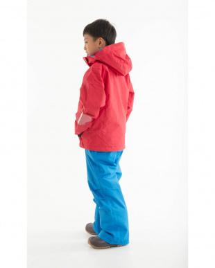 レッド/ブルー ドリームフライ ジュニア ボーイズスキーウェア ジャケット・パンツセットを見る
