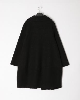 ブラック イタリア製  ウールコートを見る