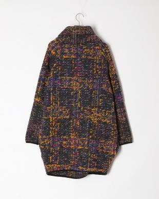 パープル イタリア製  ウールコートを見る