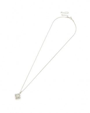 プラチナ Pt900/850 ダイヤモンド 1.00ct ネックレスを見る