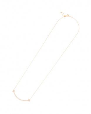 ピンクゴールド K18PG ダイヤモンド0.30ct ネックレス スライドアジャスター式を見る