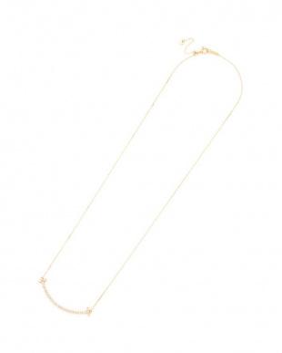 イエローゴールド K18YG ダイヤモンド 0.30ct ネックレス スライドアジャスター式を見る