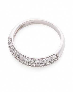 プラチナ ダイヤモンド リングを見る