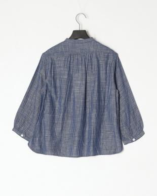 ストライプ 播州織 ワークシャツを見る