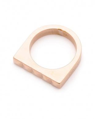 ピンク RING EDGE PVD PO PNK デザイン リングを見る