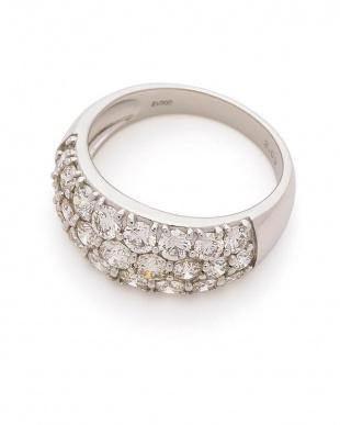 プラチナ Pt900 H&Cダイヤモンド2.00ct ミニ鑑別付 リングを見る