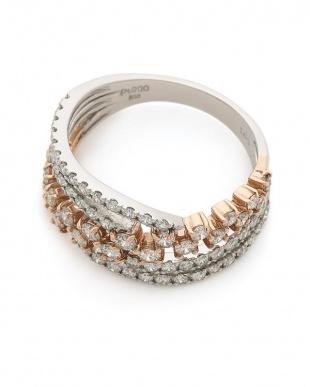 プラチナ Pt900 ダイヤモンド リングを見る