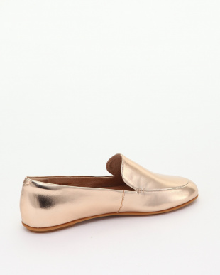 Rose Gold LENA METALLIC LOAFERSを見る
