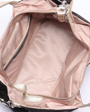 ブラック*ゴールド フランス製2wayバッグ 「ポジターノ」を見る