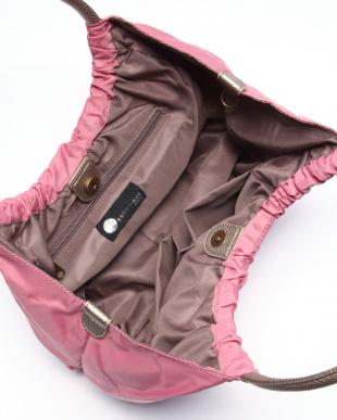 ピンク*ゴールド ナイロンハンドバッグを見る
