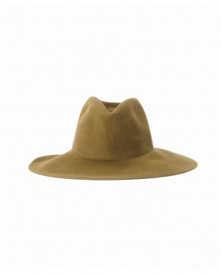 027 CLYDE WIDE BRIM PINCH HATを見る
