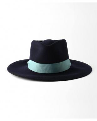 040 SENSI STUDIO Felted hat with ribbonを見る