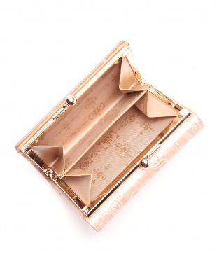 ピンク ASネイル 口金二つ折り財布を見る