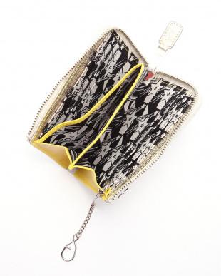 ホワイト スパノヴァ Lファスナーミニ財布を見る