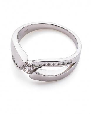 プラチナ H&Cダイヤモンド ダイヤモンド リングを見る