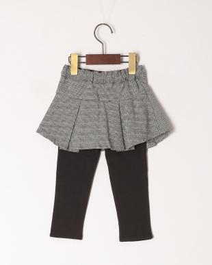 グレー スカート付パンツを見る