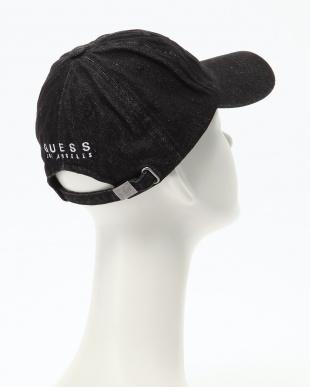 ブラック GUESS DENIM LOW CAPを見る