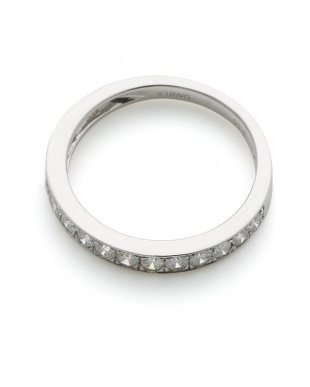 ホワイトゴールド K18WG ダイヤモンド リングを見る
