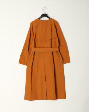 オレンジ T C GROSGRAIN COAT DRESSを見る