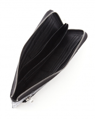 ブラック クロコダイルL字長財布を見る