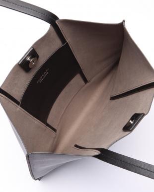 ブラック [トプカピ トレジャー] TOPKAPI TREASURE スムースレザー A4フラットトートバッグを見る
