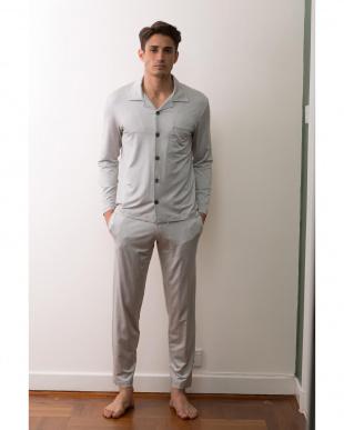 grey stripes 長袖パジャマセットを見る