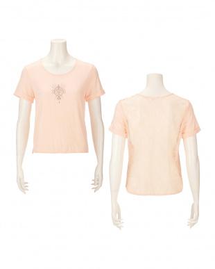 ピンク AMSTSP03 Top15 JX  アモアクティブ バイ トリンプ Tシャツを見る