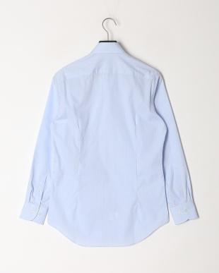 ストライプブルー [RENOWN]メンズドレスシャツ ストライプブルーを見る