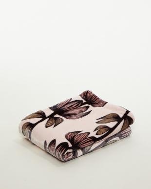 ピンク フィンレイソン アルマ柄 リバーシブルわた入りハーフ毛布を見る