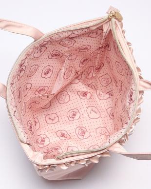 ピンク トートバッグ Mを見る