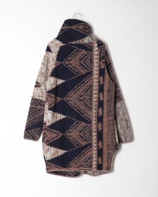 ネイビー系 イタリア製  ウールコートを見る