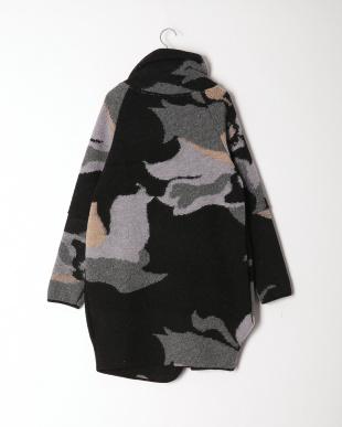 ブラック系 イタリア製  ウールコートを見る