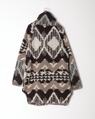 ブラウンマルチ イタリア製  ウールコートを見る