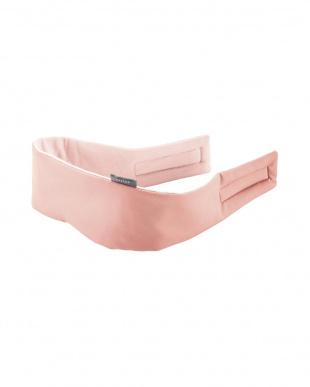 ピンク 「うるおいアイ&イヤーマスク」 寝ながらケア/目元・耳ケア/ノーズガード付を見る