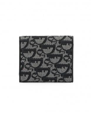 ネイビー [USED]Dior トロッター柄 折りたたみ 財布を見る