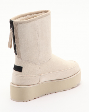 BEIGE MID BOOT WITH BACK ZIPを見る
