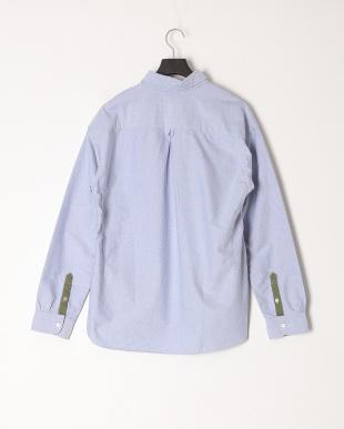 ブルー ボタンダウンシャツ/オックスフォードを見る