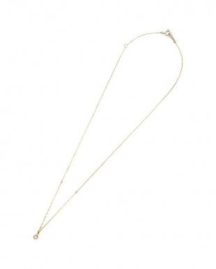 イエローゴールド ダイヤモンド ネックレスを見る