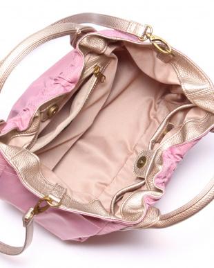 ピンク*ゴールド 2wayショルダーバッグを見る